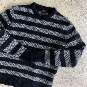 J. Crew•Wool Stripe Sweater